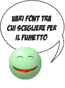 Vari font per Say Moticon
