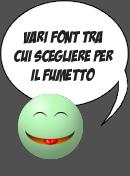 Vari font per Say Moticon